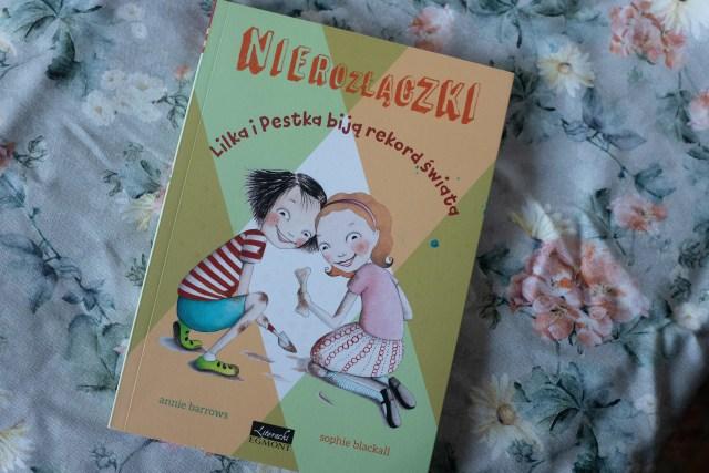 zdjęcie książki dla dzieci - Nierozłączki