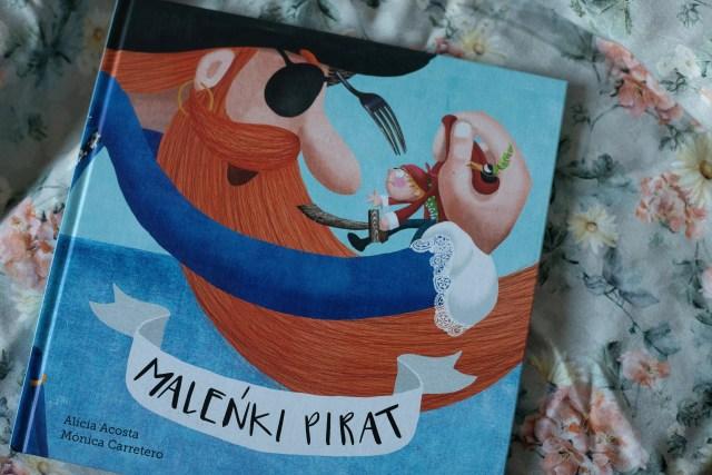 zdjęcie książki dla dzieci - Maleńki pirat