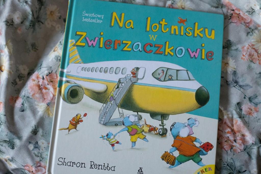 zdjęcie książki dla dzieci - Na lotnisku w zwierzaczkowie