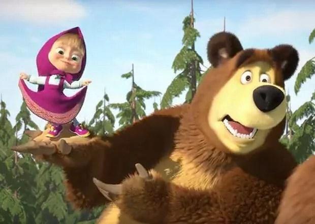 fajna bajka - masha i niedźwiedź