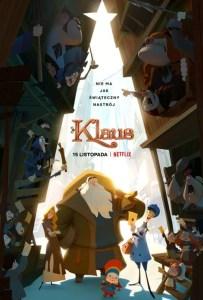 fajne filmy dla dzieci 2021 - klaus