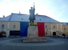 Statuia lui Mihai Viteazul - Alba Iulia - Cetatea Alba Carolina