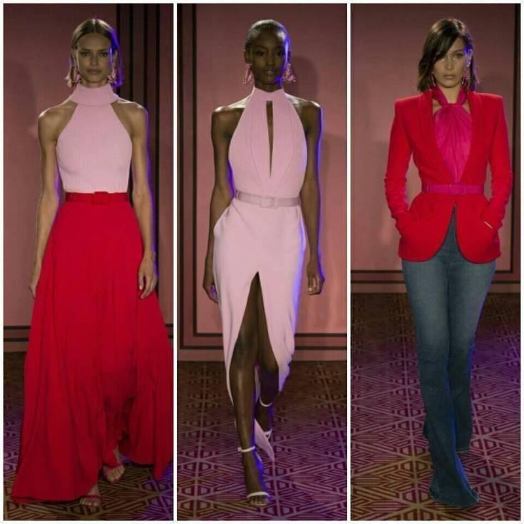 Necessaire da Diva 21742955_10155576661052319_2670377893218650376_n-1 Rosa e vermelho: a nova tendência da moda. Moda  Vermelho e rosa na moda tendências da moda Rosa e vermelho na moda Rosa e vermelho NYFW moda Gigi Hadid no NYFW dicas de moda combinação rosa com vermelho Brandon Maxwell 2017