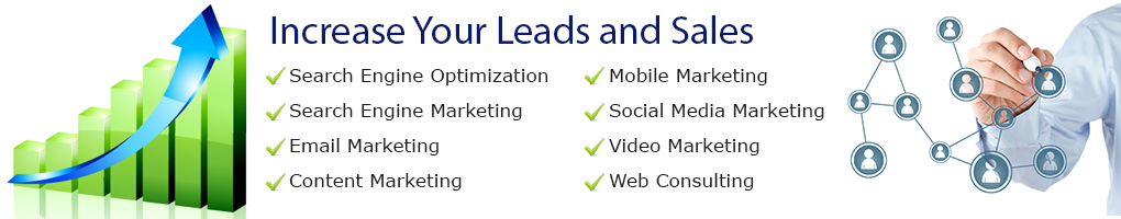 Internet marketing services banner