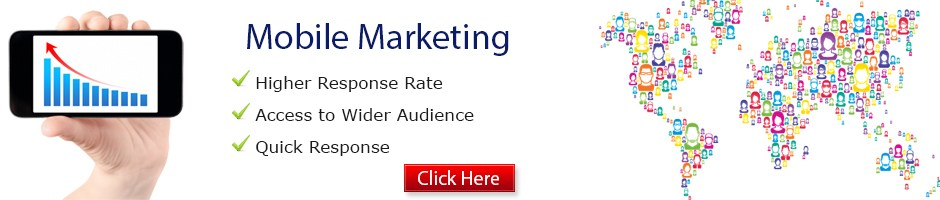 Mobile marketing banner