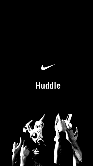 Huddle splash screen