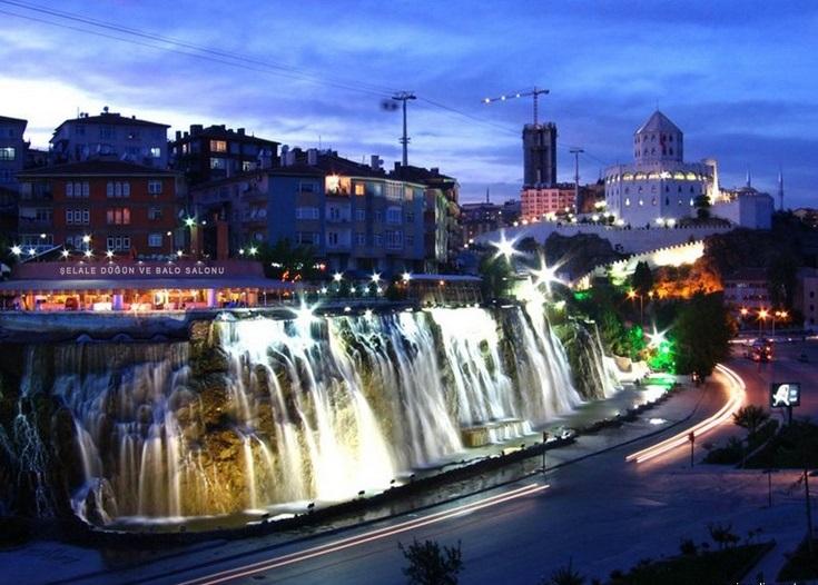 Keçiören_waterfall
