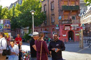 Der Künstler Luigi Toscano war auch zu Gast. | Foto: Neckarstadtblog