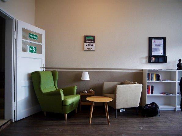 Warum soll es bei einer Bürgersprechstunde nicht gemütlich zugehen? | Foto: Neckarstadtblog