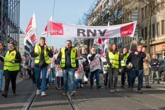Der Haustarifvertrag der rnv ist an die Lohnentwicklung des TVöD gekoppelt | Foto: CKI