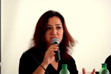 Gökay Akbulut, Migrations- und Integrationspolitische Sprecherin der Bundestagsfraktion der Linken | Foto: Christian Ratz