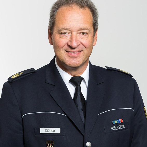 Polizeipräsident Thomas Köber   Foto: Polizeipräsidium Mannheim