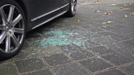 Autoaufbruch in der Kinzigstraße   Foto: M. Schülke