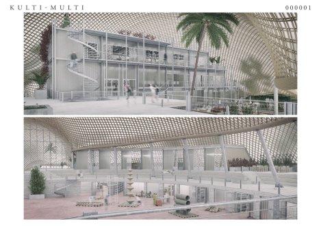 Die Arbeit der Architekten Christopher Rotman und Daniel Wilken aus Heidelberg beschreibt ein breites Spektrum an innovativen Möglichkeiten des Innenausbaus | Pressefreigabe: Stadt Mannheim