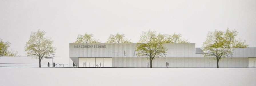 praesentation entwuerfe kombibad p1090261 - Siegerentwürfe für Kombibad Herzogenried vorgestellt (Update: Fotogalerie)