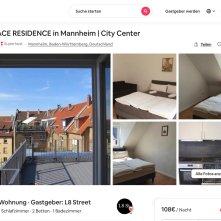 loebel airbnb terrace residence in mannheim city l8 street - Wie man mit Hilfe der GBG einen Mieter los wird…