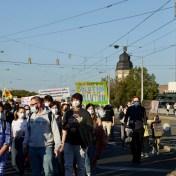 klimastreik demo allefuersklima 2021 09 24 p1100204 - Fotostrecke: Über 4000 bei Klimastreik in Mannheim