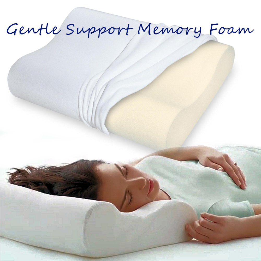 memory foam contour pillow gentle