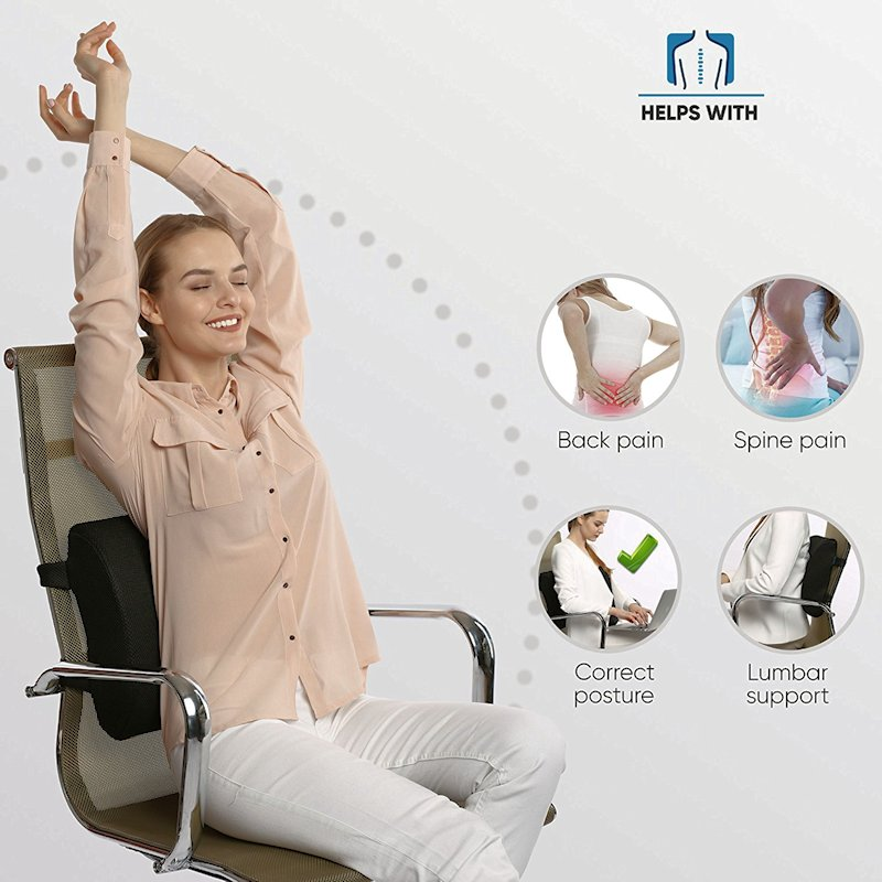 back pillows low back lumbar supports