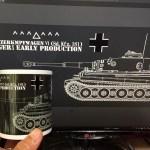 試作マグカップ ドイツ重戦車「ティーガーⅠ」の色味考察