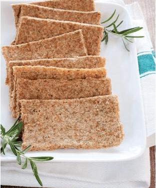 Cracker aus Mandeltrester Rezept