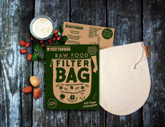 NECTARBAR Filterbeutel für Pflanzenmilch