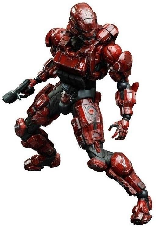 Halo 4 Play Arts Kai Figure Spartan Soldier Zie Online