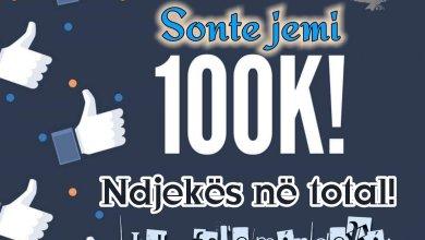 Photo of Ora 00:00 Datë 03.06.2020  Tani jemi mbi 100.000 ndjekës ne total në faqen më të madhe Dibrane  Ju falenderojmë nga zemr…