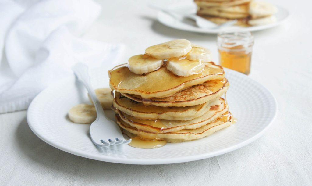 how to make banana pancake