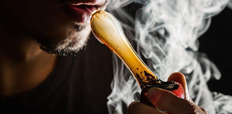 marijuana resin smoking