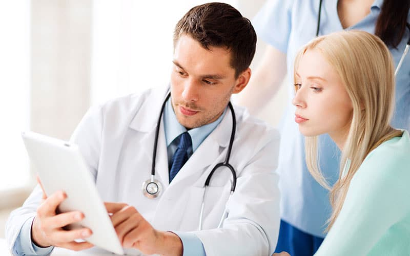 Doctor and patient in Virtual Healthcare Conferences