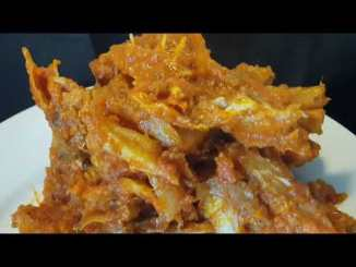jollof rice with stockfish