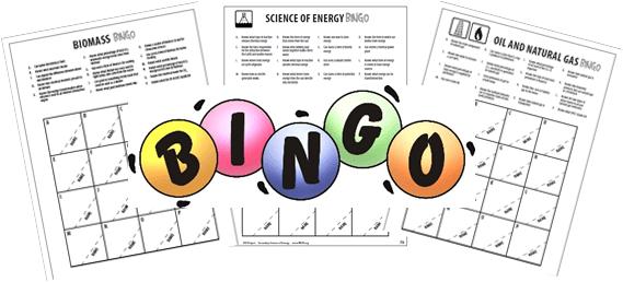 Graphic of bingo cards
