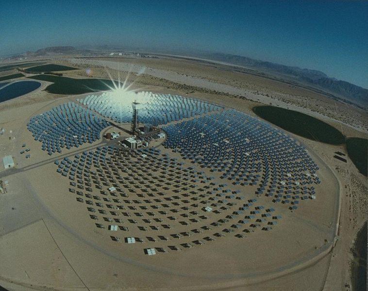 Solar Two PV installation