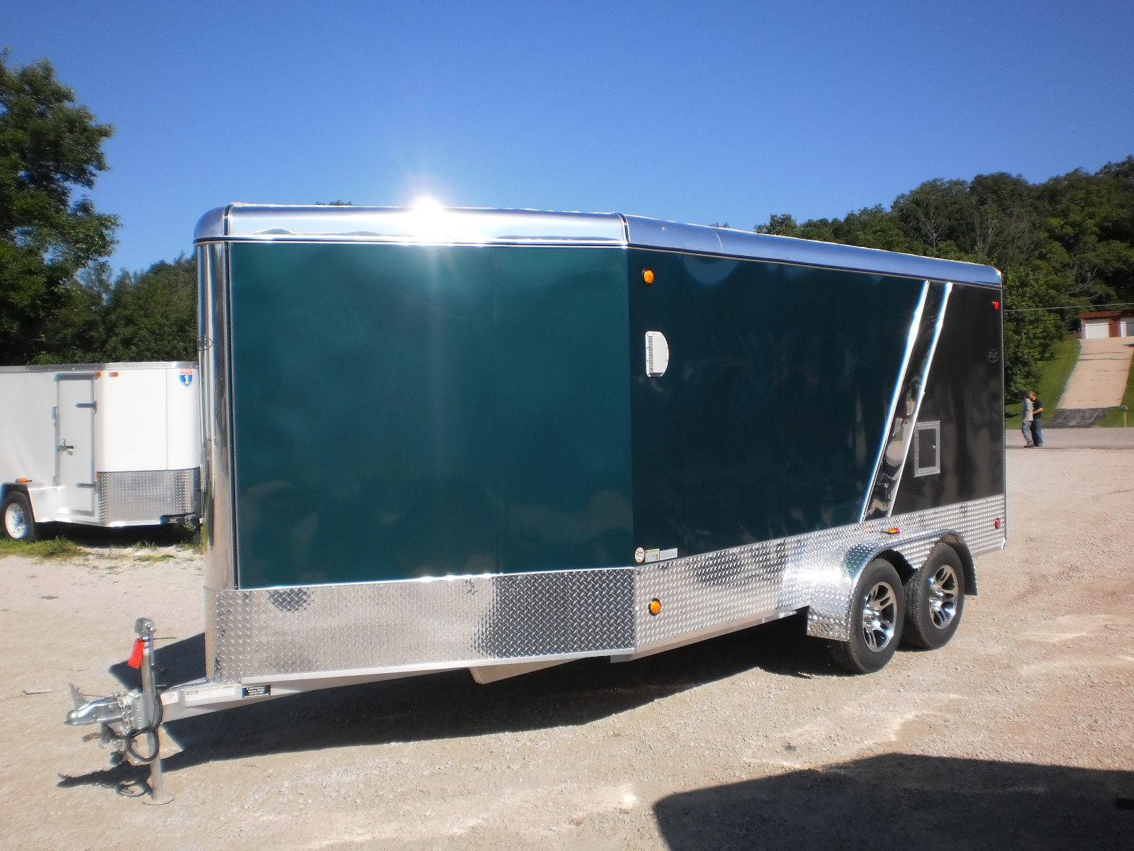 R And P Carriages Enclosed Trailer Exterior And Color Options