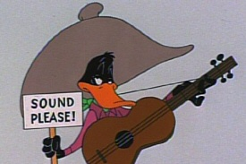 Duck Amuck: Sound Please