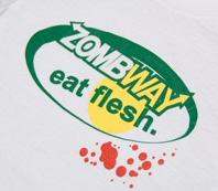 Zombway T-Shirt: Eat Flesh