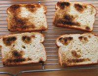 CNC toast from Evil Mad Scientist Laboratories