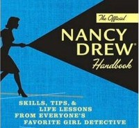 The Official Nancy Drew Handbook book cover art