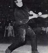 Boris Karloff as Frankenstein's Monster playing baseball