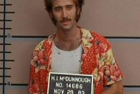 Nicolas Cage in lineup from Raising Arizona