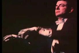 Rowan Atkinson Plays Piano