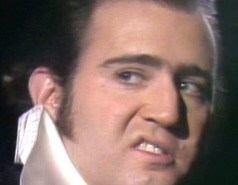 Andy Kaufman as Elvis
