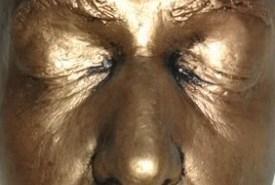 Vincent Price life mask