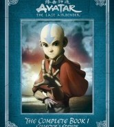 Avatar The Last Airbender: The Complete Book 1 DVD Cover Art