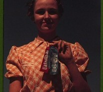 Winner at the Delta County Fair, Colorado