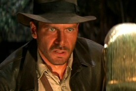 Harrison Ford as Indiana Jones from Raiders of the Lost Ark
