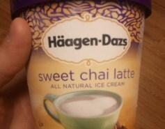 Sweet Chai Latte by Haagen Dazs
