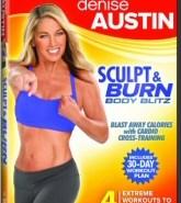 Denise Austin: Sculpt and Burn Body Blitz DVD