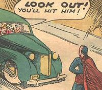 Superman in 1938